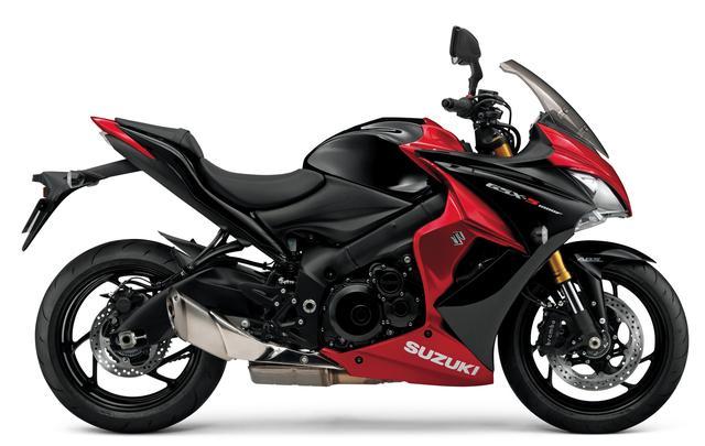 画像: SUZUKI GSX-S1000F ABS(既存色:グラススパークルブラック/キャンディダーリングレッド)