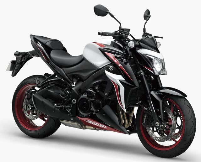 画像1: SUZUKI GSX-S1000 ABS(新色:パールグレッシャーホワイト/グラススパークルブラック ※特別色)