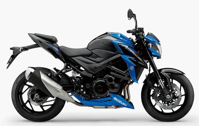 画像2: SUZUKI GSX-S750 ABS(グラススパークルブラック/トリトンブルーメタリック)