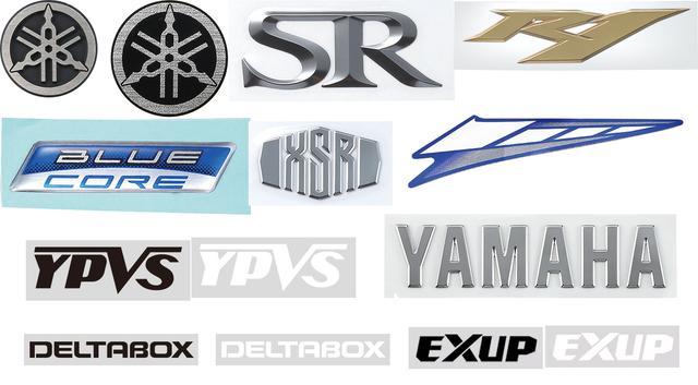 画像: YAMAHAのステッカーとエンブレムの新ラインアップが3月に追加発売