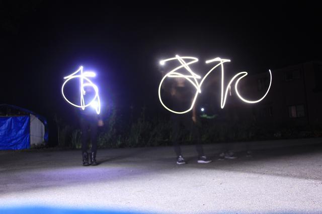 画像: 友人とカメラで遊んで描いた「あきた(秋田)」