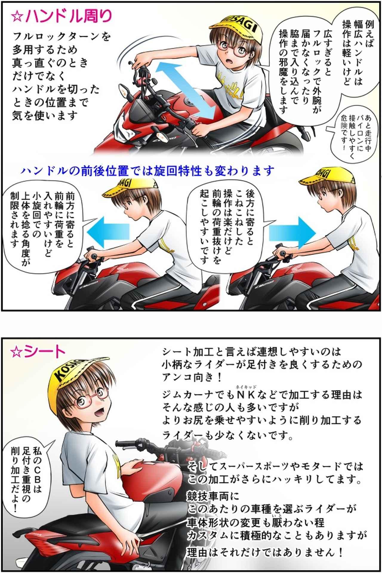 画像3: Motoジム! おまけのコーナー (ジムカーナ向けのライポジとそのカスタム)  作・ばどみゅーみん