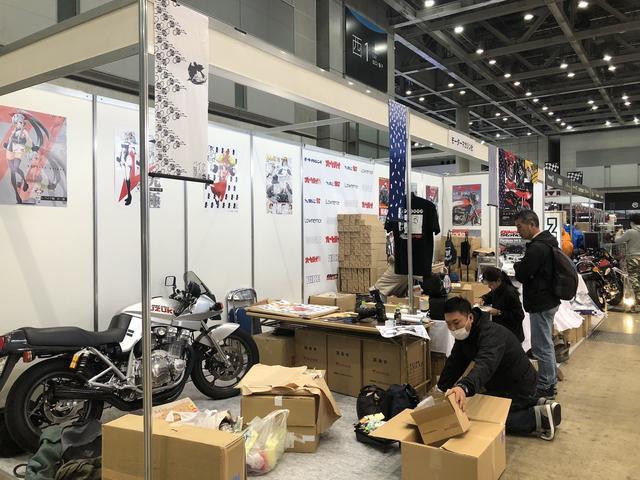 画像2: 東京モーターサイクルショー2018の搬入に行ってきました!