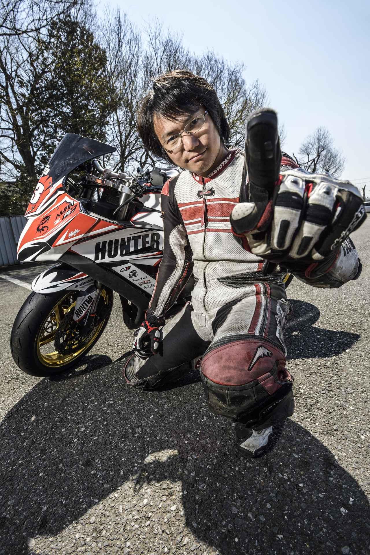 画像1: 「盛り上がってて楽しみ! で、勝つのはオレね」 スーパーバイクで全開アタック【小崎弘敬】