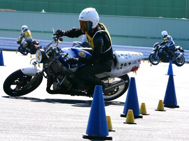 画像: NO級19位 桑島克成選手&NSR250R 1分46秒106