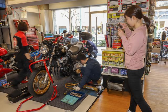 画像: 愛車CB400SFのタイヤを交換するため、名古屋〜東京ツーリング??