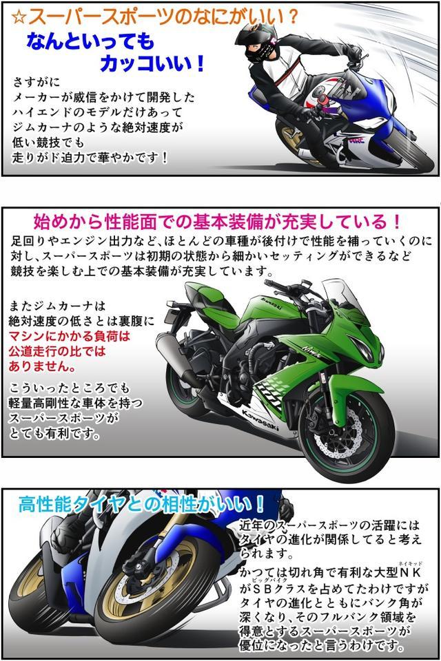 画像2: Motoジム! おまけのコーナー (ジムカーナマシンとしてのスーパースポーツのあれこれ!)  作・ばどみゅーみん