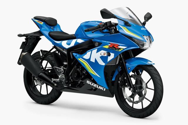 画像: 各メーカーから様々な車種が続々とリリースされる125 ccクラス。同じ125ccでも、お使いバイクのスクーターから、写真のGSX-R125のような硬派なスポーツモデルまで、カテゴリーは様々。