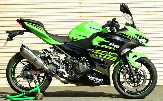 画像1: '18 Ninja400 NASSERT Evolution TypeⅡ スリップオンマフラー