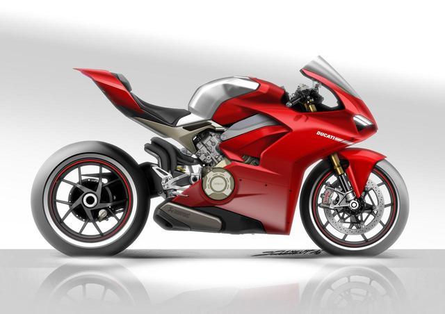 画像4: スーパーバイクに拘り誕生したデザイン