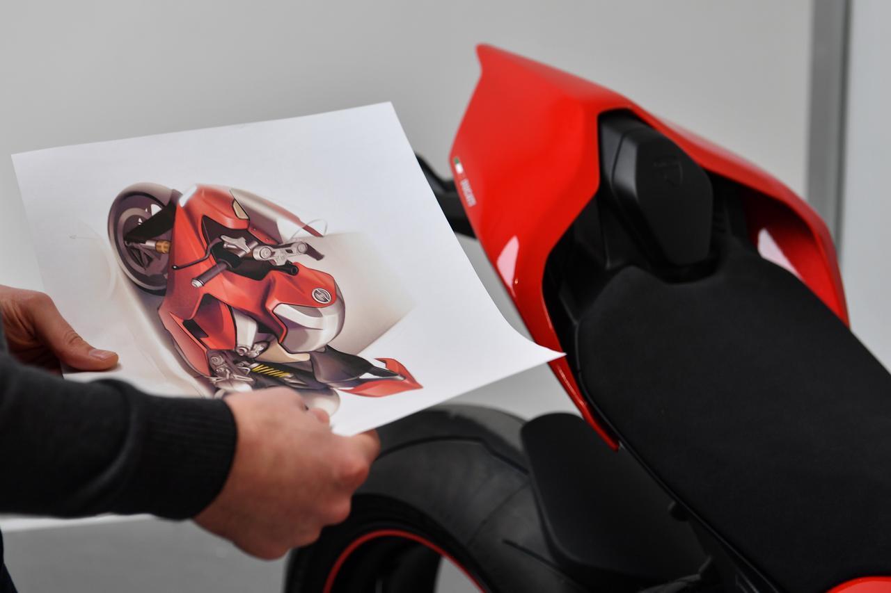 画像3: スーパーバイクに拘り誕生したデザイン