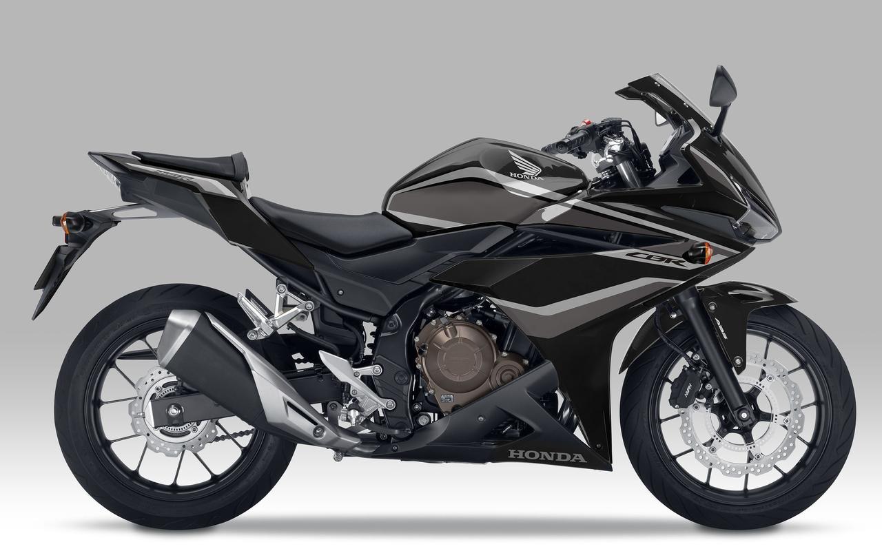 画像: HONDA CBR400R(グラファイトブラック) ■税込価格:78万3000円