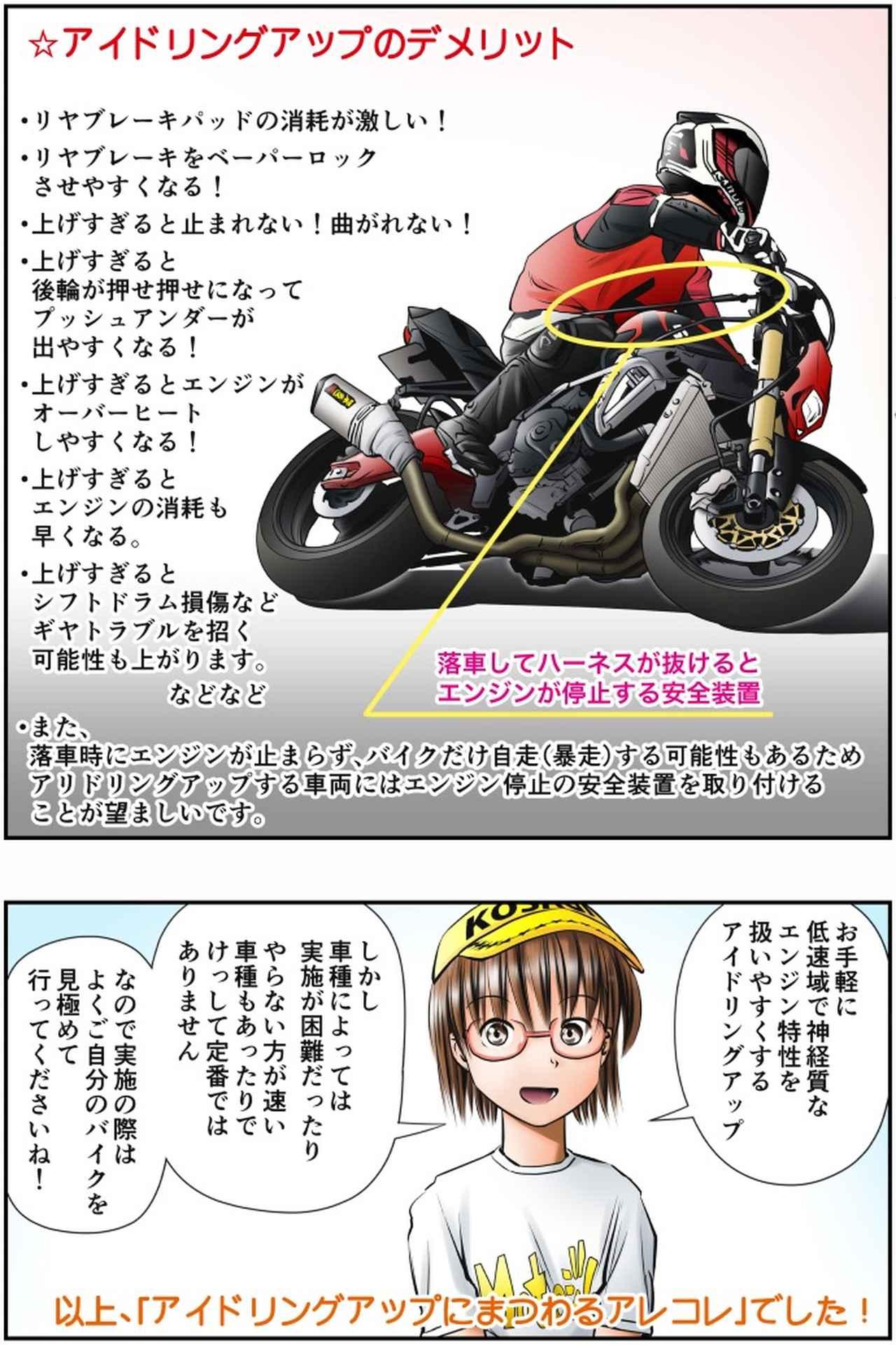 画像4: Motoジム! おまけのコーナー (アイドリングアップにまつわるアレコレ)  作・ばどみゅーみん