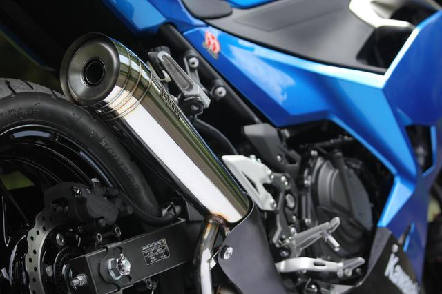画像1: 2018型Ninja250用 POWER BOX MEGAPHONEマフラー