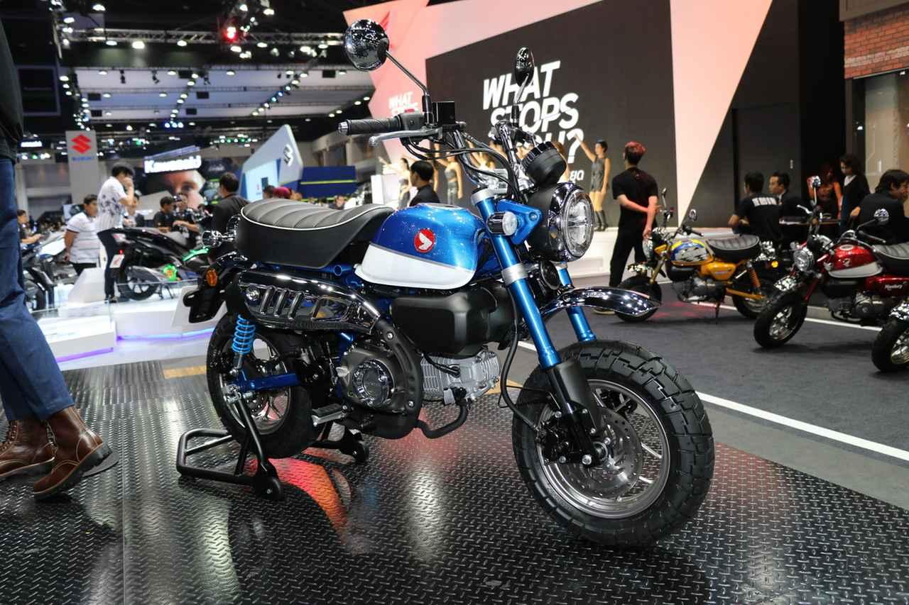 モンキー125、生産国・タイで発表された ニューカラーも一挙紹介! Webオートバイ