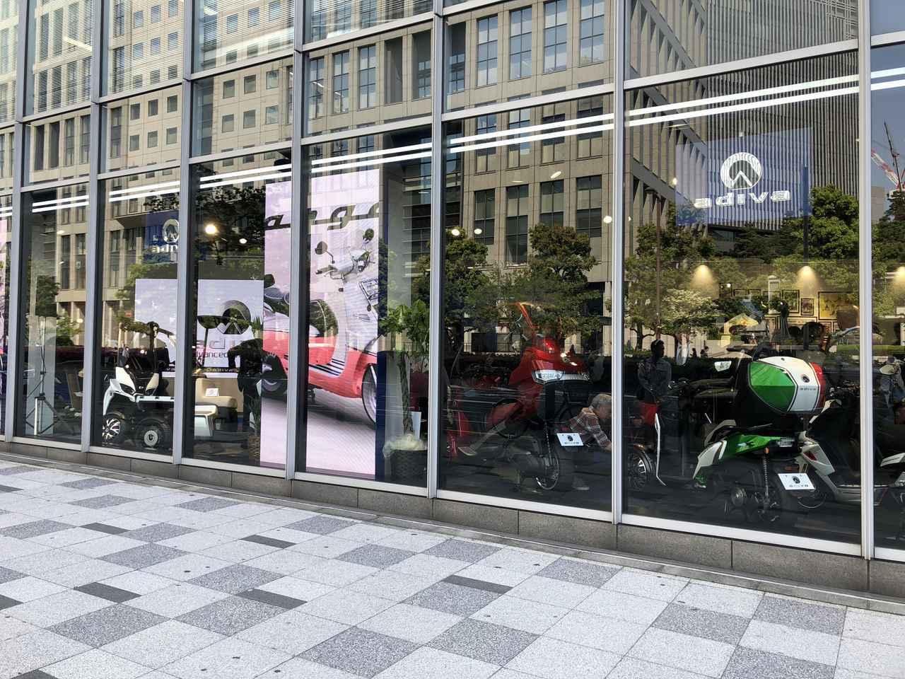 画像2: ヨーロッパのスクーター「ADIVA」と「プジョー」を体感できる ショールームが赤坂にオープン