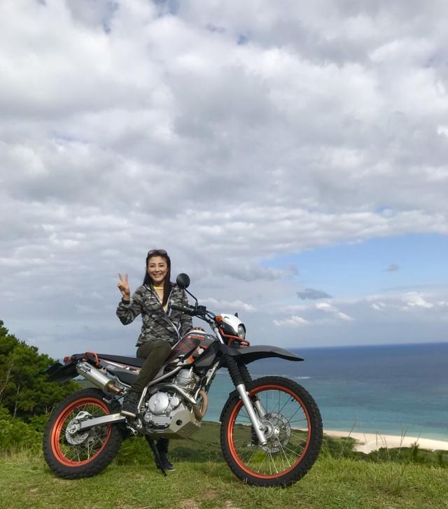 画像: みなさまも是非是非、石垣島でレンタルバイクしてみてね。 もう、すでにまた行きたい!放浪癖な福山理子がお届けいたしました