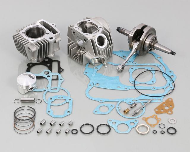 画像: 108cc スタンダード ボアアップ KIT タイプ 2 (鋳鉄スリーブ)