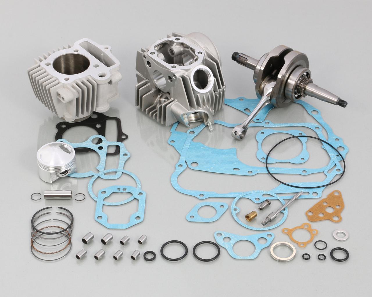 画像: 108cc スタンダード ボアアップ KIT タイプ 2 (硬質メッキ)
