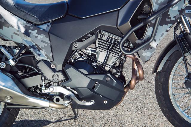 画像: デュアルスロットルバルブを採用し、吸気量を緻密に制御することでリニアなスロットルレスポンスを実現したDOHC 4バルブ並列2気筒エンジン。