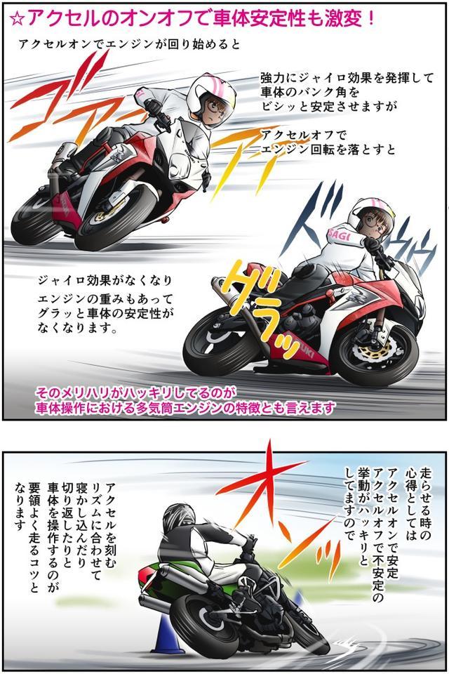 画像3: Motoジム! おまけのコーナー (多気筒とシングル・ツインエンジンの運動性の違い・その1)  作・ばどみゅーみん