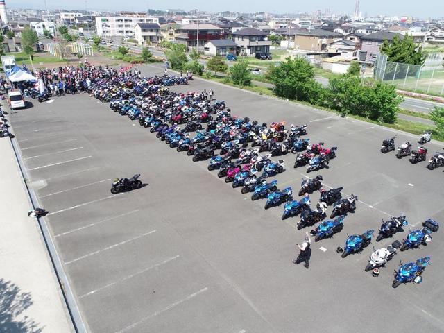 画像12: 今年は約200台が参加!【GSX-Rオーナーズクラブ 全国ミーティング】に参加してきました!(モリメグ)