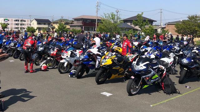 画像5: 今年は約200台が参加!【GSX-Rオーナーズクラブ 全国ミーティング】に参加してきました!(モリメグ)