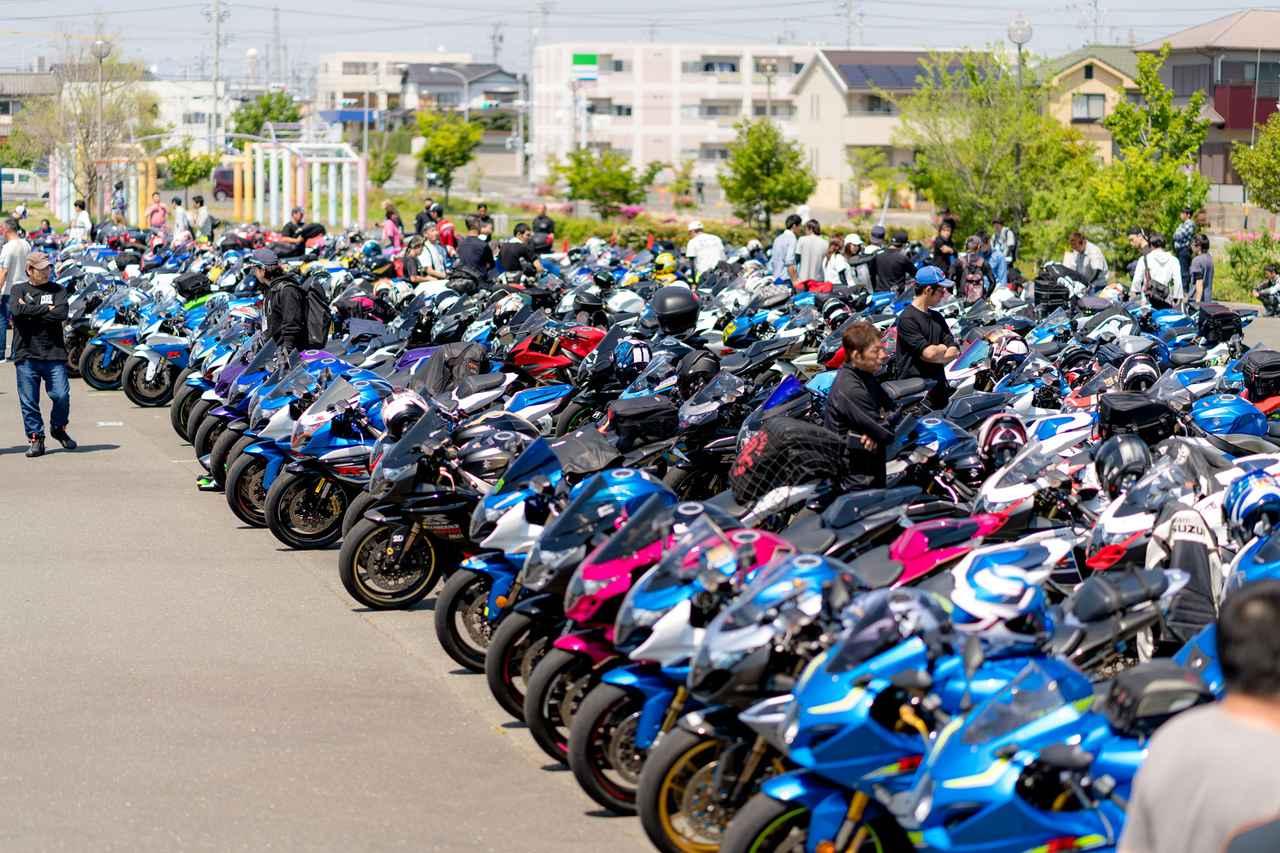 画像2: 今年は約200台が参加!【GSX-Rオーナーズクラブ 全国ミーティング】に参加してきました!(モリメグ)