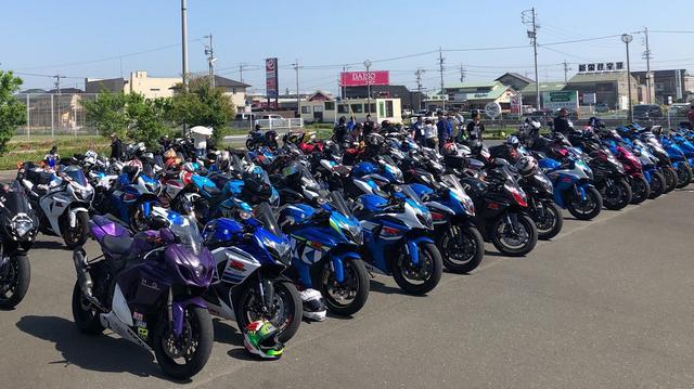 画像4: 今年は約200台が参加!【GSX-Rオーナーズクラブ 全国ミーティング】に参加してきました!(モリメグ)