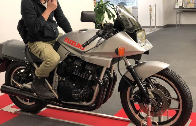 画像: GSX1100S カタナ 記念撮影コーナー