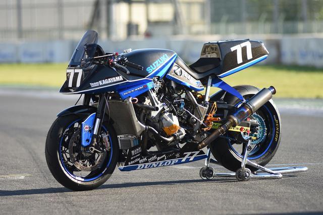 画像: これがチームKAGAYAMAの刀1000R、完成バージョン! GSX-Rエンジン+オリジナルフレーム!