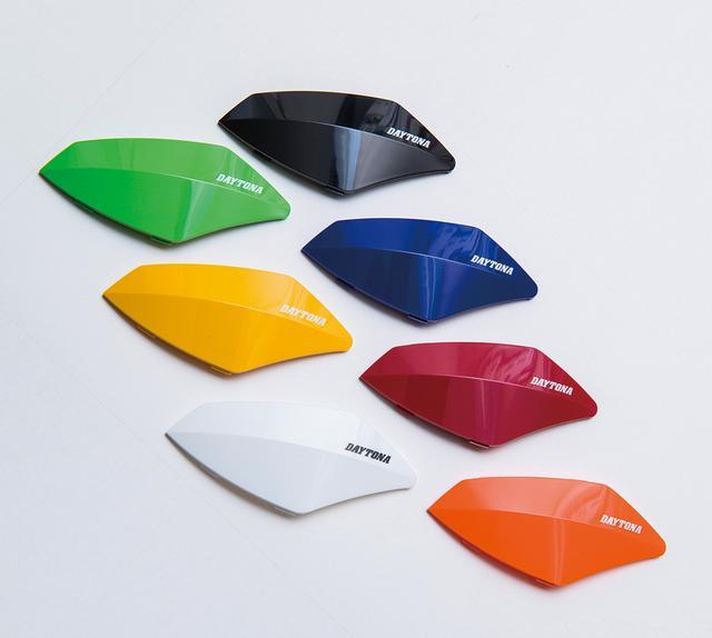 画像: 商品付属のフェイスパネルはブラックだが、オプションのパネルを使えばカラーコーディネートも楽しめる。写真の7色のほか、シルバー風の「ブリリアントブラック」もある。