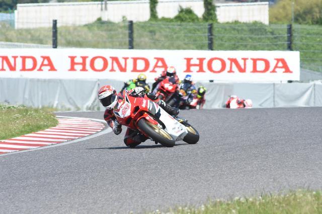 画像: これたしかレース1の1周目 ここからぐんぐん差をつけます