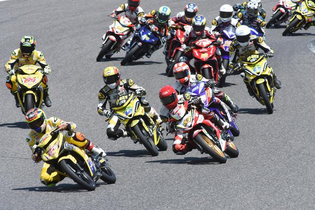 画像: AP250以上にチョー大激戦のUB150 20台中15台がトップグループ、なレース