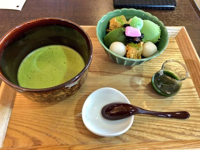 画像: 抹茶づくしセット(静岡抹茶 緑野) 920円