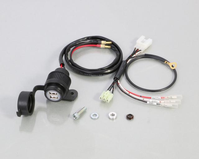 画像3: スーパーカブ 110(JA07)/ スタンダード(JA44)/カブ50スタンダードに簡単にUSB電源を