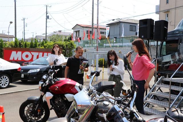 画像: 大矢さん的にはアメリカンが好きみたい♡ 女性でアメリカン好きな人は多いよね!! アニメで女性ライダーが乗ってるバイクもハーレーとかDUCATIとかが多いし。
