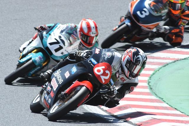画像: #62埜口は、全日本初参戦初優勝 今シーズンはイデミツ・アジアタレントカップに参戦中で、ここまで4戦3勝を挙げてのチャンピオン候補です