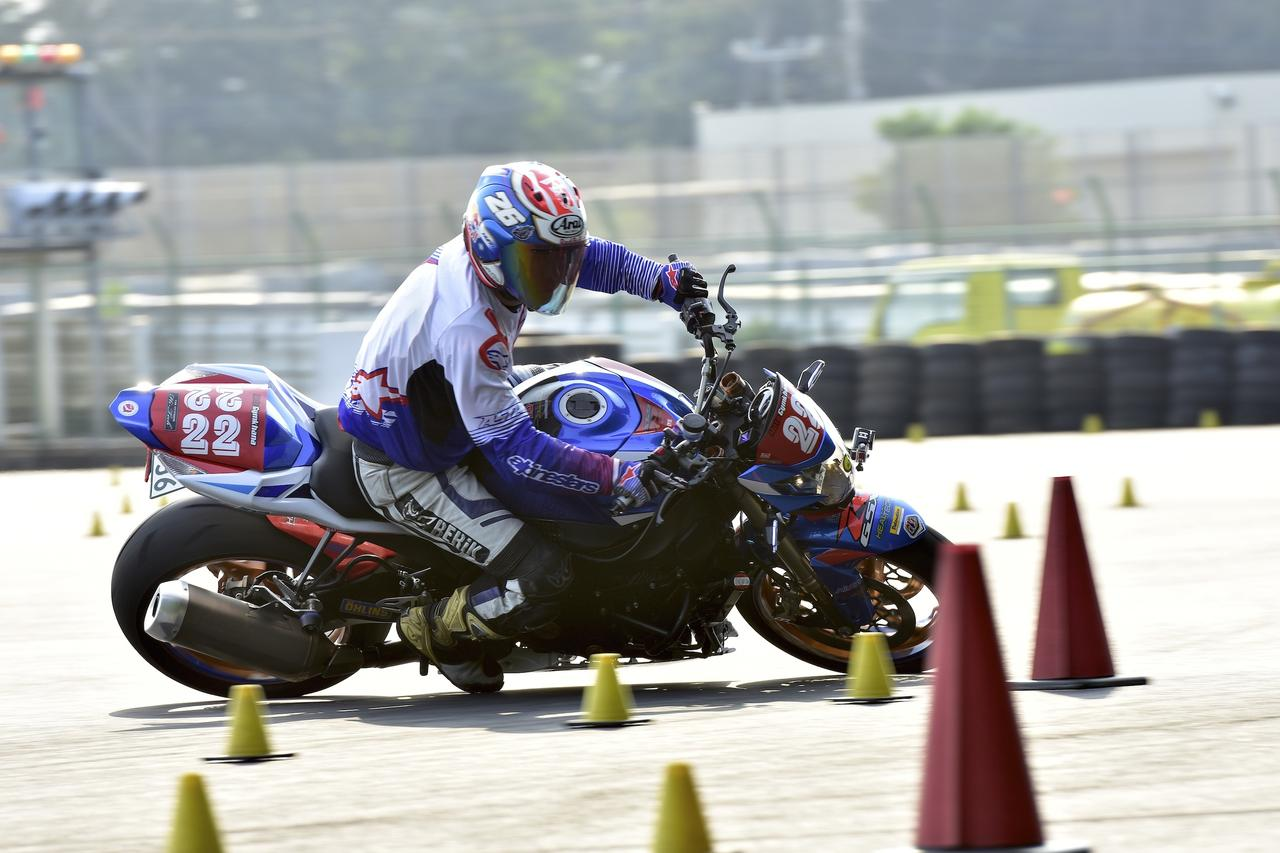 画像: A級19位 竹村選手&GSX-R1000 1分38秒070