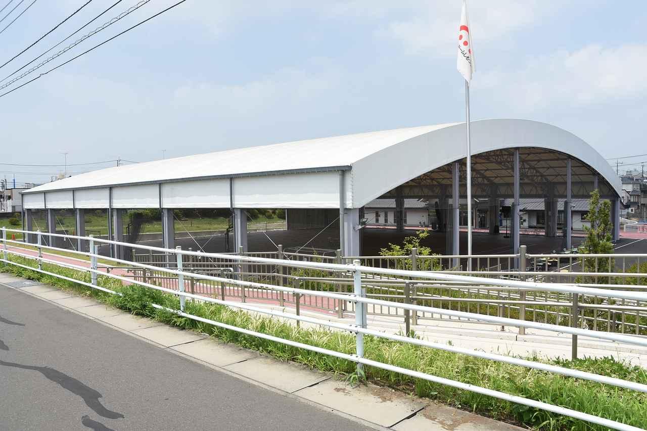 画像: こんな感じの半野外ドーム「WaiWaiドームしもつま」=茨城県下妻市下妻丁91