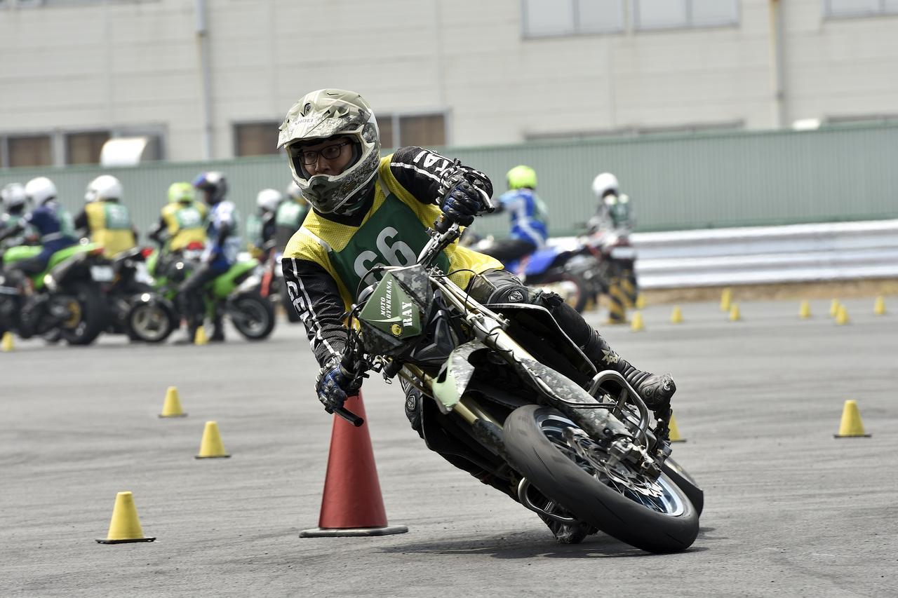 画像: 1位・濱田 令&DR-Z400SM 1分45秒164