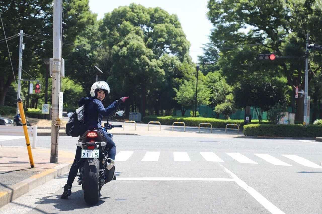 画像10: [女子部のふたツー]目指すは有名クレープ店! 猛暑の東京ツーリング!(梅本まどか 編)