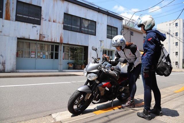 画像5: [女子部のふたツー]目指すは有名クレープ店! 猛暑の東京ツーリング!(梅本まどか 編)