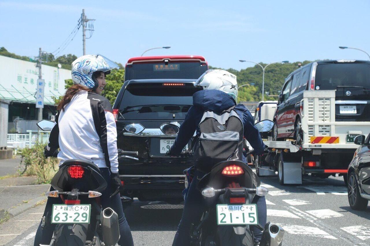 画像21: [女子部のふたツー]目指すは有名クレープ店! 猛暑の東京ツーリング!(梅本まどか 編)