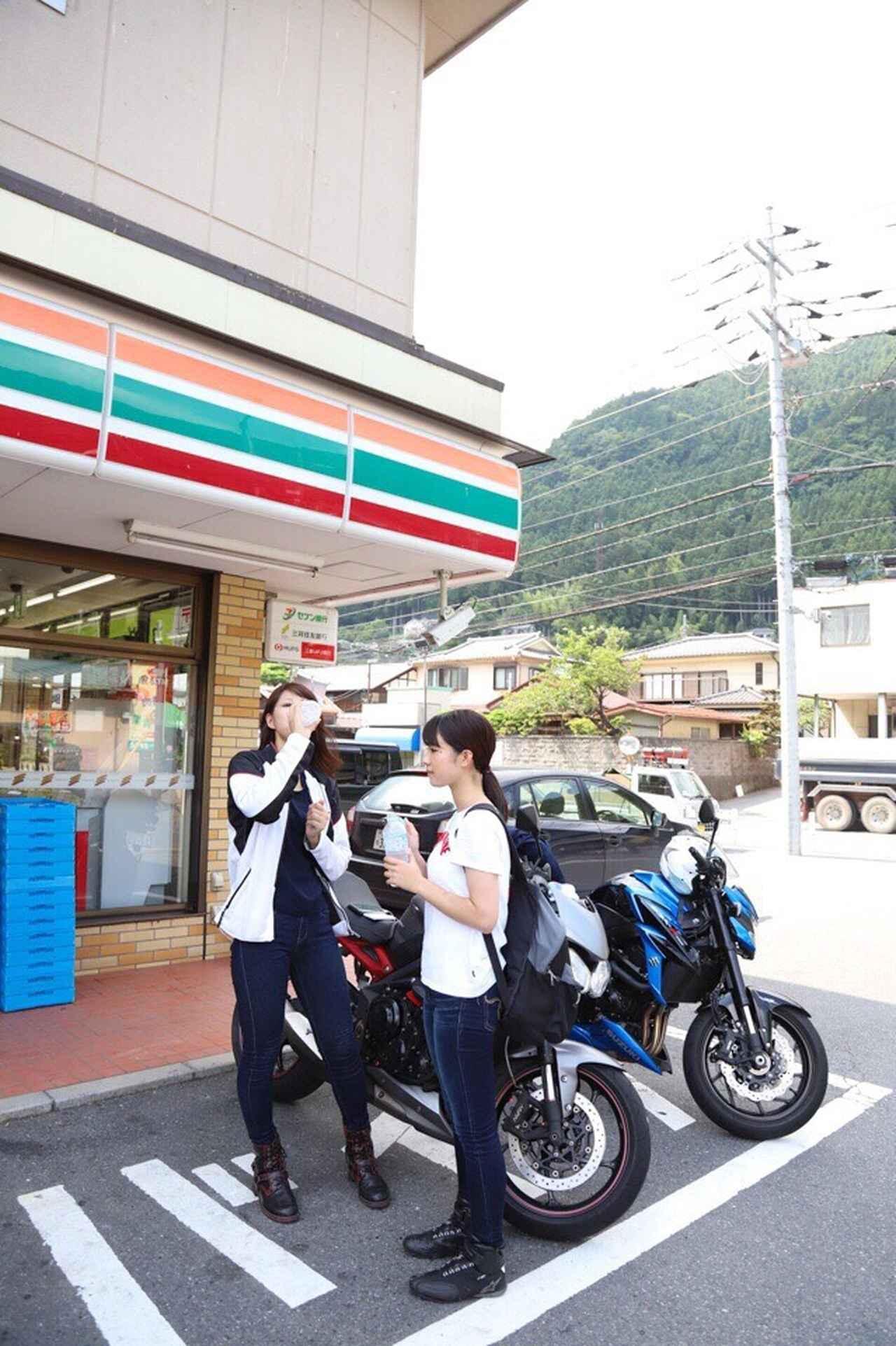 画像20: [女子部のふたツー]目指すは有名クレープ店! 猛暑の東京ツーリング!(梅本まどか 編)