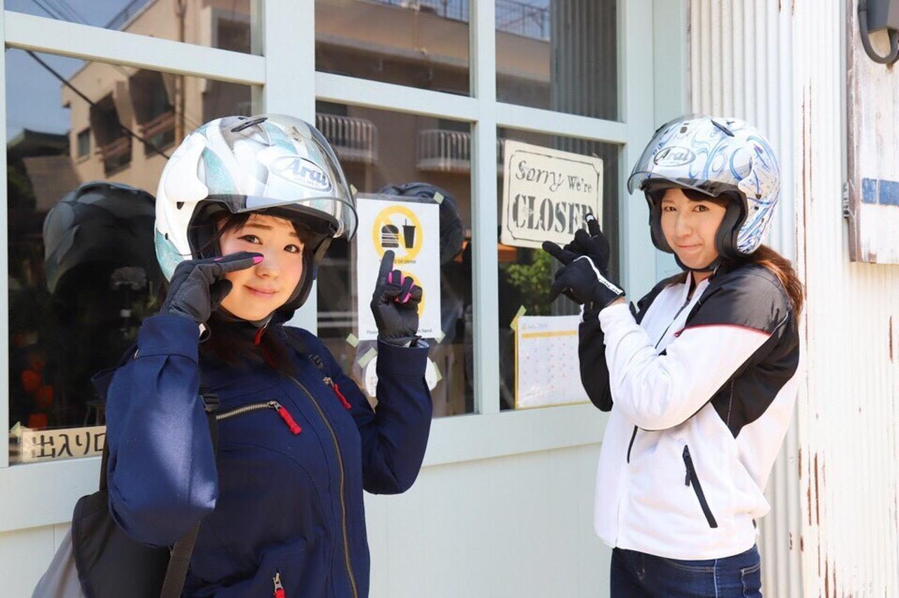 画像8: [女子部のふたツー]目指すは有名クレープ店! 猛暑の東京ツーリング!(梅本まどか 編)