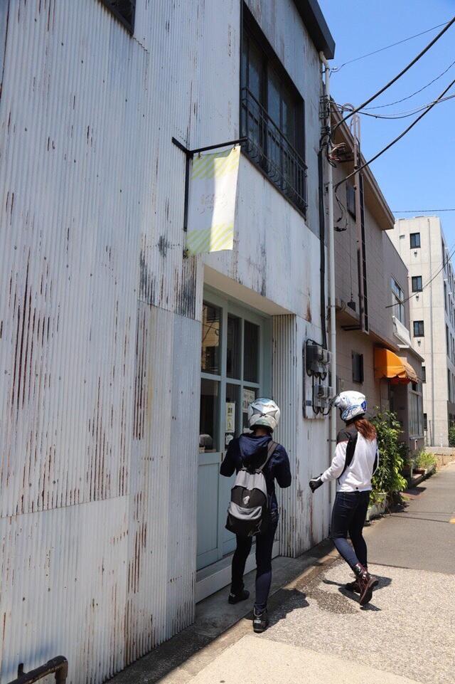 画像7: [女子部のふたツー]目指すは有名クレープ店! 猛暑の東京ツーリング!(梅本まどか 編)