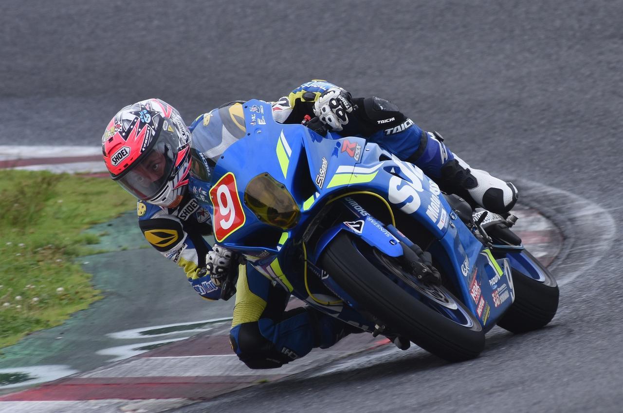 画像: MotoMapの今野由寛は昨年の8耐以来のレース 自宅がRUNのご近所さんw