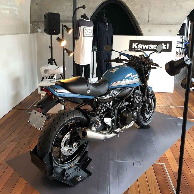画像: 「Z900RS CAFE」ブルー(新色)