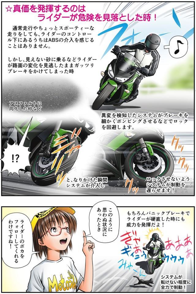 画像2: Motoジム! おまけのコーナー (実際どうなの? ABS vs 熟練の技!)  作・ばどみゅーみん